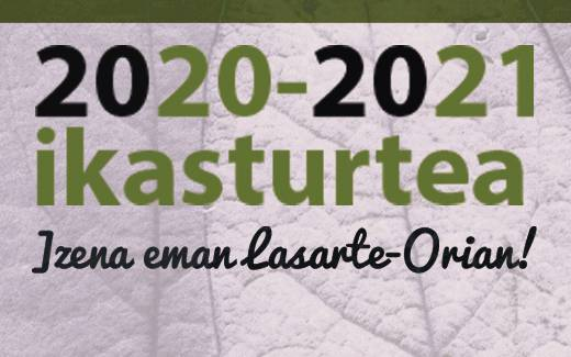 2020-2021 ikasturtean eman izena Lasarte-Orian!