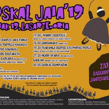 Euskal Jaia 2019