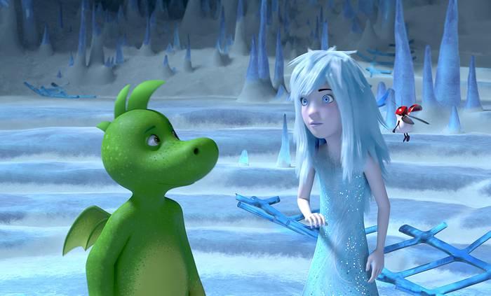 Tabaluga y la princesa de hielo filma