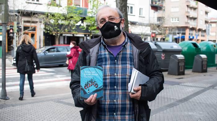 Emakume pirata baten abenturak jaso ditu Pablo Barriok 'El Sitio del Fin del Mundo' liburuan