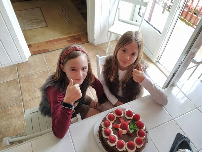 Txokolate tarta