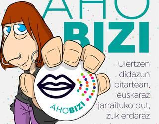 Euskaraldiko rolak: 'Ahobizi'