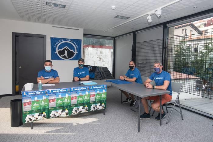 """Lasarte-Oria Trail: """"Herriak Mendi Festa bezalako ekitaldiak behar ditu"""""""