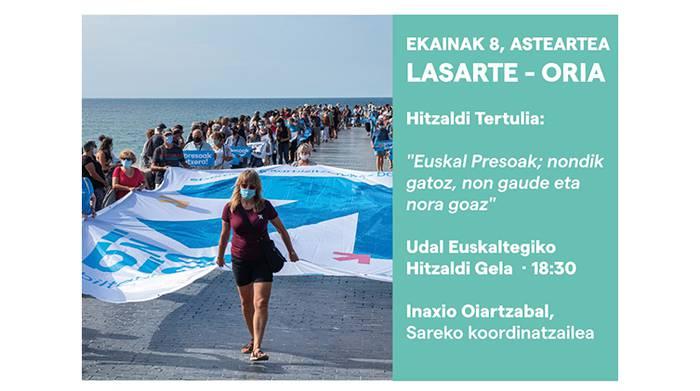 Hitzaldia, dokumentala eta tertuliak, 'Ibilian-ibilian, etxerako bidean' dinamikaren Lasarte-Oriako ekintzak