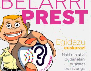 Euskaraldiko rolak: 'belarriprest'