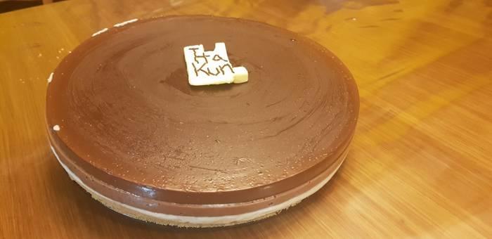 Hiru txokolatezko tarta