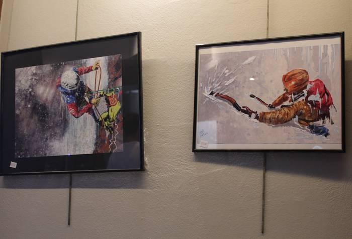 Karmelo Oñateren ilustrazioak ikusgai daude hilabete bukaera arte Jalgi Kafe Antzokian