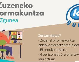Zuzeneko formakuntza telematikoaren eskaintza egin du KZ Guneak