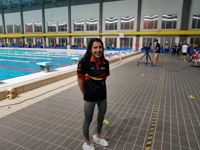 """Nahia Zudaire: """"Tokioko Joko paralinpikoena buruan dugun idea da, baina oraindik gaztea naiz"""""""