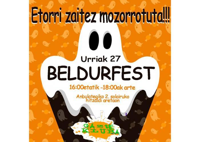 'BeldurFest' egingo dute larunbatean Gazte Klubekoek