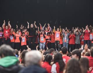 Koreografiak Okendo plazan