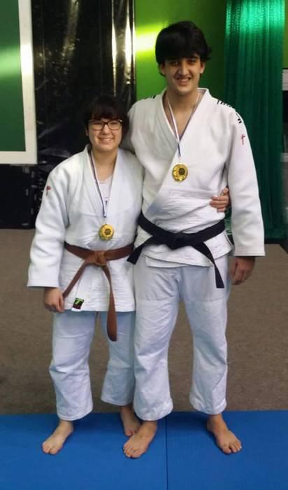 Asteburu bikaina Almi Campos eta Eneko Eizagirre judokentzat