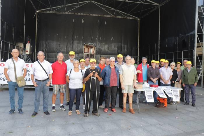 Lasarte-Oriako pentsionistak Madrilen izango dira gaur