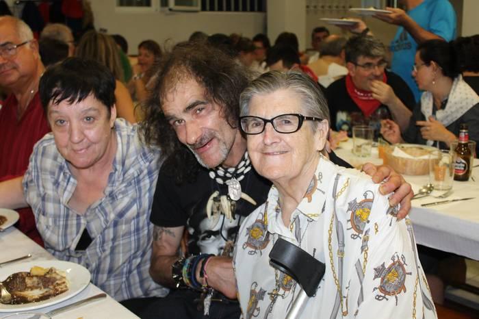 Concha Arraztio 40 urte Lasarte-Orian lanean