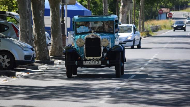 III. San Sebastian Circuit Spirit ekitaldiko autoak Lasarte-Orian