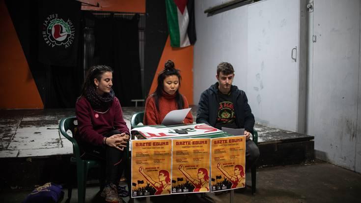 Lasarte-Oriako gazteria dantzan eta martxan jartzeko