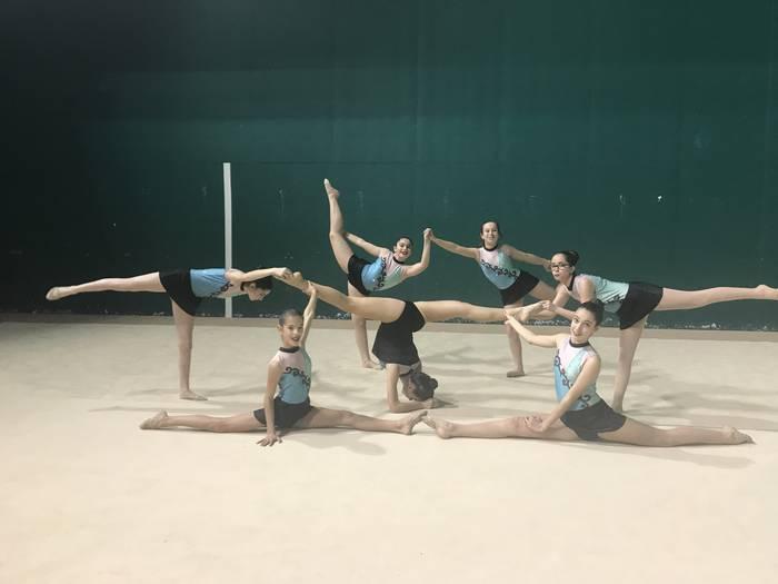 Udaberriko txapelketa hasi dute herriko gimnastek
